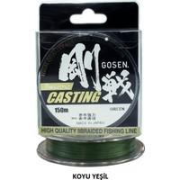 Gosen W-8 Casting Pe 8 Kat Örgü Misina Pe 3,0 / 0,296 Mm