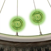 Nite Ize See'Em LED Jant Işığı 2li Paket-Yeşil