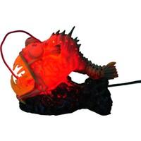 Chicos-Dekor Canavar Balık Led Işıklı