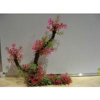 Langhu Plastik Özel Tabanı Polyester Geniş Bitki