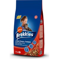 Brekkies Mix Beef Yetişkin Biftekli Kedi Maması 1.5 Kg