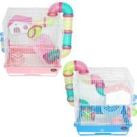 Dayang Hamster Kafesi Borulu 35X28X37