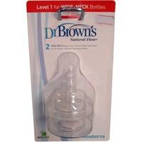 Dr Browns 352 1. Aşama Geniş Ağız Biberon Emziği 2 lİ