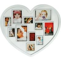Kütahya Porselen Beyaz Kalp Plastik Fotoğraflık