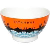 Kütahya Porselen İstanbul Kase 25398 Dekorlu