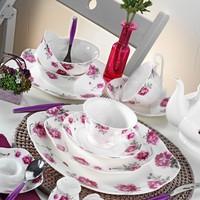 Kütahya Porselen Bone China 44 Parça 50102 Desen Kahvaltı Takımı