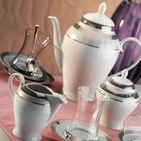 Kütahya Porselen 29 Parça 10129 Desen Çay Takımı