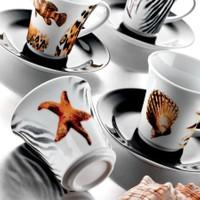 Kütahya Porselen Estel 6 Kişilik Çay Takımı