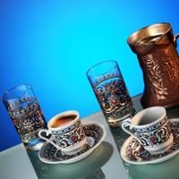 Kütahya Porselen Gözde 6 Parça Kahve Takımı