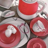 Kütahya Porselen Yasemin 44 Parça 5208 Desen Kahvaltı Takımı