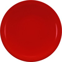 Kütahya Porselen Zeugma Pasta Tabağı Kırmızı
