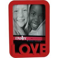 Kütahya Porselen Love Kırmızı Plastik Fotoğraflık