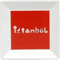 Kütahya Porselen Perge 25392 Dekor 18 Cm İstanbul Tabak