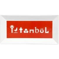 Kütahya Porselen Perge 25392 Dekor 24 Cm İstanbul Tabak