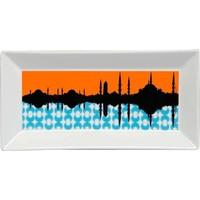 Kütahya Porselen Perge 25398 Dekor 24 Cm İstanbul Tabak
