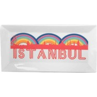 Kütahya Porselen Perge 25399 Dekor 24 Cm İstanbul Tabak