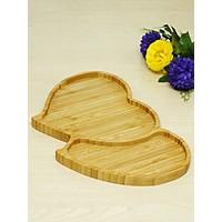 Kitchen Love Bambu Çift Kalp Çerezlik