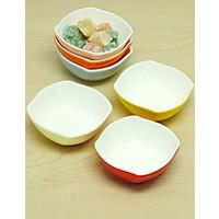 Kitchen Love Porselen Renkli 6 Lı Çerezlik