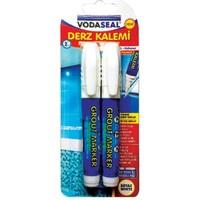 Vodaseal Derz Kalemi 2Lı Yedek Uçlu Beyaz