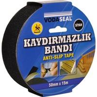 Vodaseal Kaydırmazlık Bandı 50Mmx15Mt - Siyah