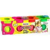 Fatih 4 Renk Oyun Hamuru (Neon) (4*130=520gr)
