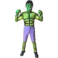 Marvel Heroes Hulk Çocuk Kostümü 4-6 Yaş Hulk - 4-6 Yaş