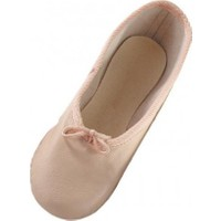 Bindallı Kostüm Pembe Bale Ayakkabısı (Patiği) 23