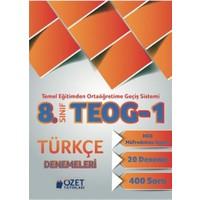 Özet Yayınları 8. Sınıf Teog-1 Türkçe Denemeleri