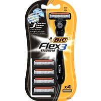 BIC Flex Hybrid Tıraş Makinesi / 4+1 Yedek Kartuşlu