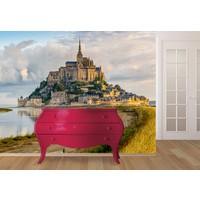 Mont Saint Michel Duvar Sticker 350x250cm