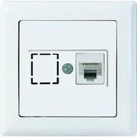 Mutlusan ZqMutlusan Candela Data Prız 1*Rj45 (Cat5E) Beyaz