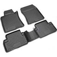 Omsa 7538-EXP-51.34.210k VW PASSAT B7 2011-2014 3D Paspas Siyah 4 Prç Koku Yapmaz Kauçuk PASSAT B7 2011-2014 3D Paspas Siyah 4 Prç