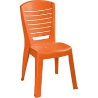 Plastıco Zambak Yatay Kolsuz Sandalye