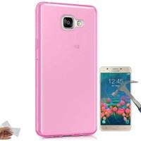 Teleplus Samsung Galaxy J7 Prime Tam Korumalı Silikon Kılıf + Cam Ekran Koruyucu