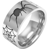 Ashyl Örümcek Alyans, Örümcek Gümüş Alyans, Örümcek Ağı Alyans