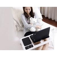 Pratik Portatif Katlanabilir Soğutuculu Laptop Sehpası
