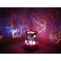 Pratik Duvar Projeksiyonlu Star Lover Gece Lambası