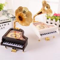 Pratik Piyano Müzik Kutusu Beyaz