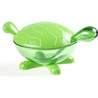 Pratik Kaplumbağa Tasarımlı Şekerlik Ve Mama Kabı