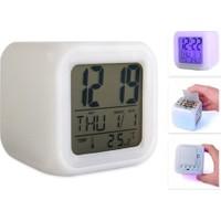 Original Boutique 7 Renk Değiştiren Küp Saat