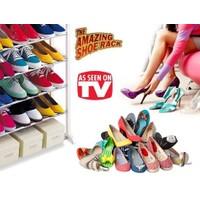 Pratik Kurulumlu 10 Katlı Ayakkabılık Amazing Shoe Rack