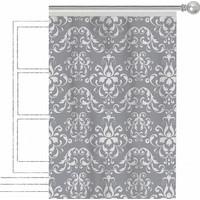 Apolena Dekoratif Fon Perde 308-8759-3