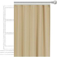 Apolena Dekoratif Fon Perde 308-Z302-1