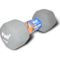 Voit Vdb-04 Altıgen Neopren Dumbbell 5 Kg Gri