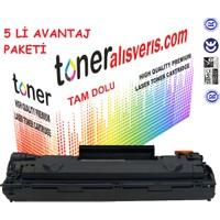 Paintter Hp Q 2612A 5Li Paket- 1010, 1012İ, 1015, 1018, 1020, 1022 Muadil Toner