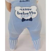 Bebetto S247 Nico-Boy Havlu Bebek Külotlu Çorap 12-24 Ay