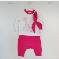 Wogi Baby 7223 Kız Bebek Alt Üst Takımı