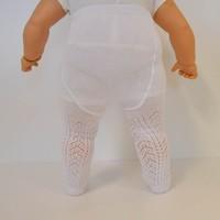 Bebetto S213 File Bebek Külotlu Çorap İki Fiyonk 0-6 Ay