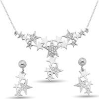 Argentum Concept Zirkon Taşlı Gümüş Samanyolu Set