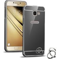 Microsonic Samsung Galaxy C7 Kılıf Luxury Mirror